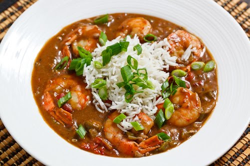 Shrimp, Chicken, and Andouille Gumbo | On The Sunny Side Of The Egg